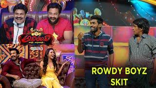Adhirindi Episode 15 Hari and Yadamma Raju Skit   Rowdy Boyz   Zee Telugu