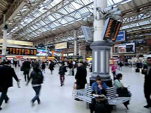 London Victoria Station 2010