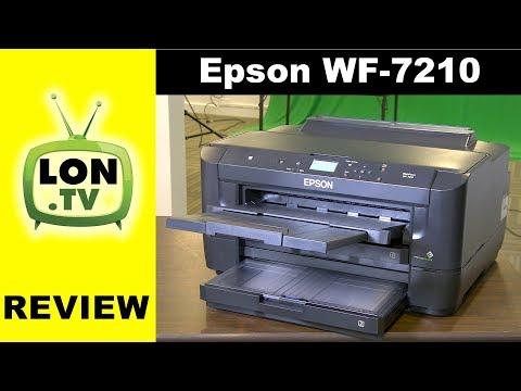 Epson Workforce WF-7210 Wide Format Color Inkjet Printer