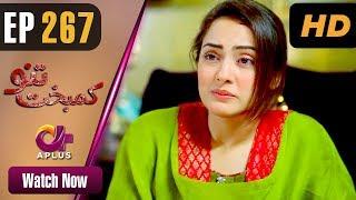 Kambakht Tanno - Episode 267 | Aplus ᴴᴰ Dramas | Tanvir Jamal, Sadaf Ashaan | Pakistani Drama
