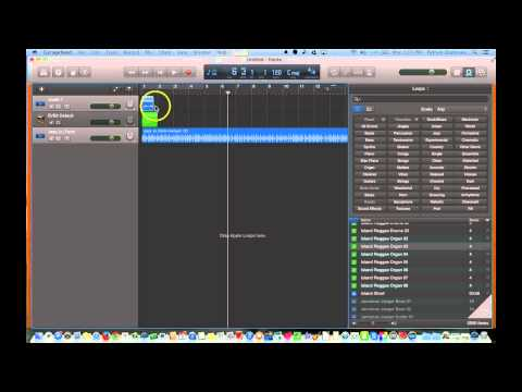GarageBand 10.0 - Splitting, Cutting and Looping Tracks