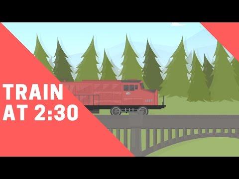 Funny Video Animation | Train & Bull Joke | Funny Cartoon Series | Episode 3