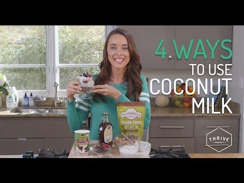 4 Ways to Use Coconut Milk