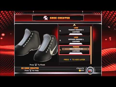 NBA 2K15 - MAKING SHOES FROM SCRATCH - NIKES!