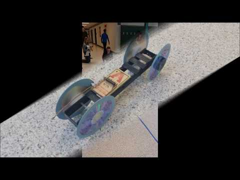 Fast Physics Mousetrap Car Goes The Distance