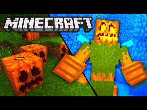 GIANT EVIL PUMPKIN MONSTER THAT FLIES! - Minecraft 1.2