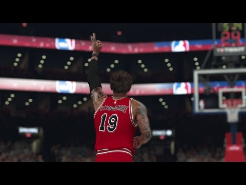 NBA 2K17 My Career - First Game After Patch 1.03 (PS4)