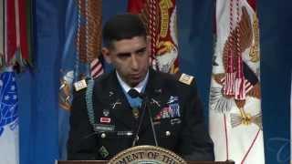 Hall of Heroes Ceremony: Capt. Florent Groberg Speech