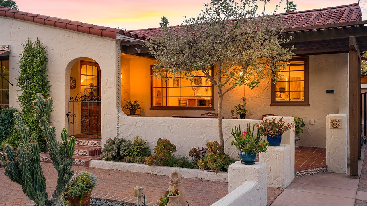 3657 Larchwood Place:  Spanish Colonial Revival in the Wood Streets Historic District
