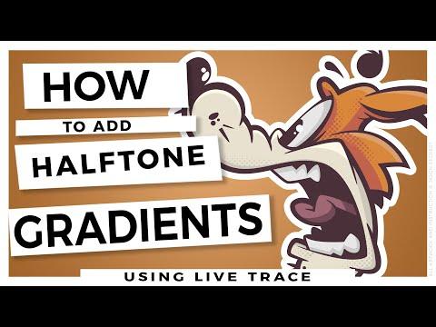 Learn Adobe Illustrator Adding Gradients Halftones