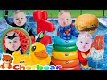 Swimming Song quotPOOL TIMEquot Kids Songs Sing Along Summer FUN With Baby Superheroes Songs For Children
