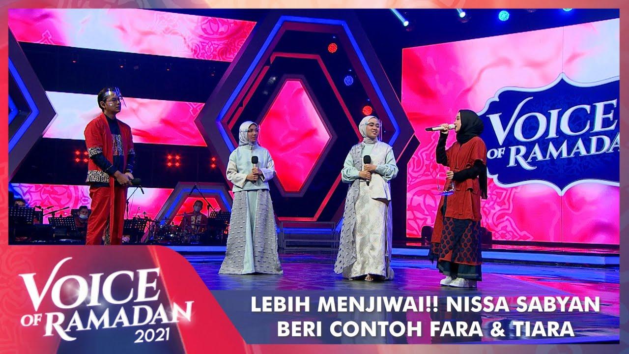 Download Lebih Menjiwai!! Nissa Sabyan Beri Contoh Bernyanyi Dengan Perasaan | VOICE OF RAMADAN 2021 MP3 Gratis