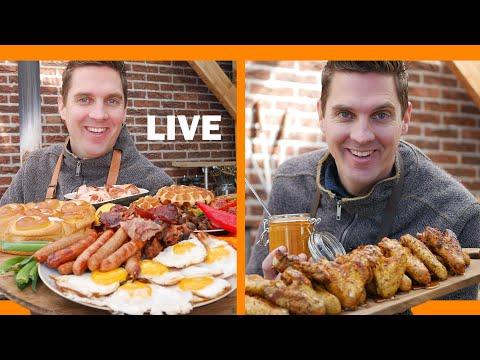 Episode #1 - Monday's Live Studio Barbecue Recipe Recordings