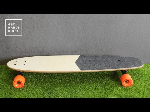 Make a Longboard // Easy Flat Style