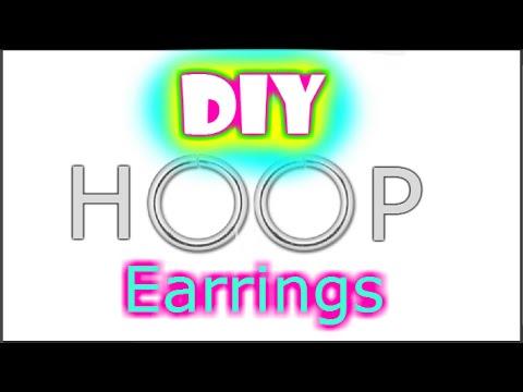 DIY Ring and Small Hoop Earrings
