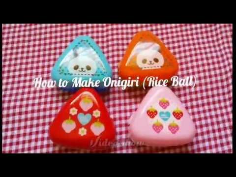 HOW TO MAKE ONIGIRI JAPANESE RICE BALLS - SO EASY