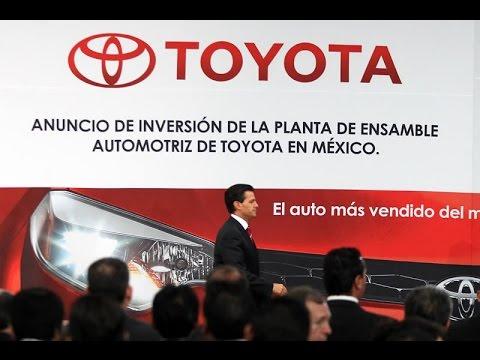 Atestigua EPN inversion de Toyota en México