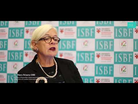 Dr. Mary Stiasny on University of London and ISBF
