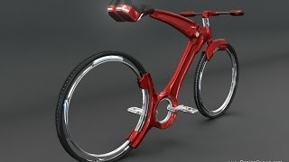 Hubless Bicycle Concept by John Villarreal