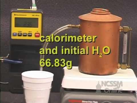 Heat of Vaporization of Water Lab