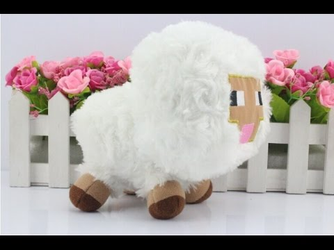 Minecraft Plush Baby Sheep Toy