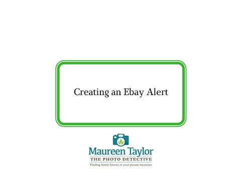 How to Set Up an Alert on eBay