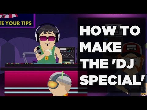 HOW TO MAKE THE DJ SPECIAL (Find Gin and Tonic + Special ingredient)