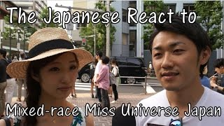 Japanese React to Mixed-race Miss Universe Japan Ariana Miyamoto (Interview)