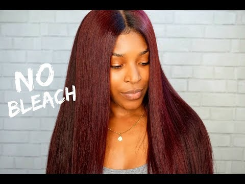HOW TO DYE YOUR HAIR THIS COLOR!!