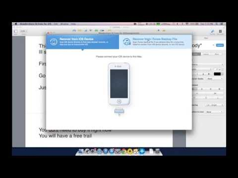 How to view your pictures and more from a iTunes backup.