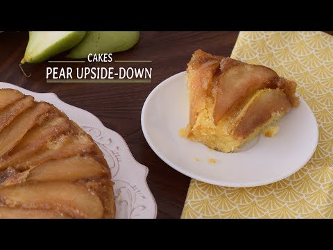 Pear Upside Down Cake | Go Delicious