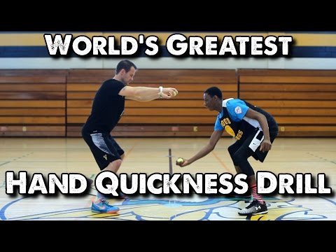 World's Greatest Hand Quickness Drill for Basketball: Ball Drop