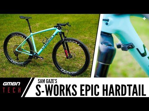 Sam Gaze's S-Works Epic Hardtail | GMBN Tech Pro Bike