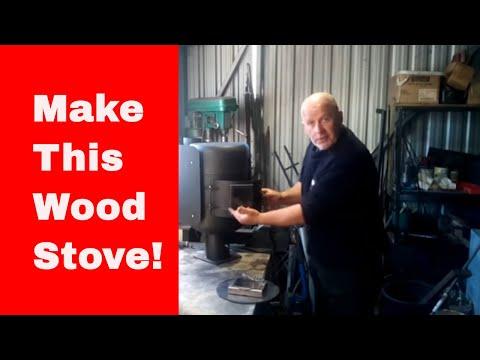 Making amazing gas bottle  wood stove part 1