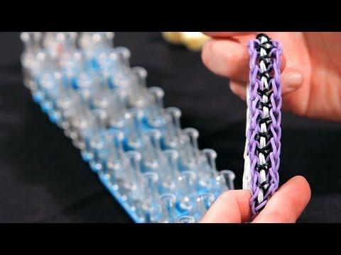 How to Make a Twisty Wisty Bracelet | Rainbow Loom