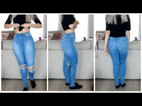 Amazing Jeans for Curvy Girls / Small Waist | COCO Chanou