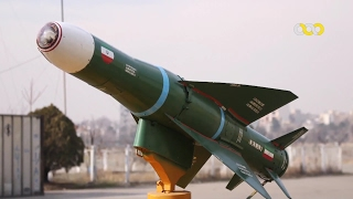 Iran made Zoobin air launched TV-guided air to surface missile first test موشك زوبين ايران