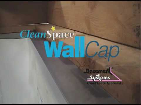 Wall Cap to stop moisture escaping from cinder block