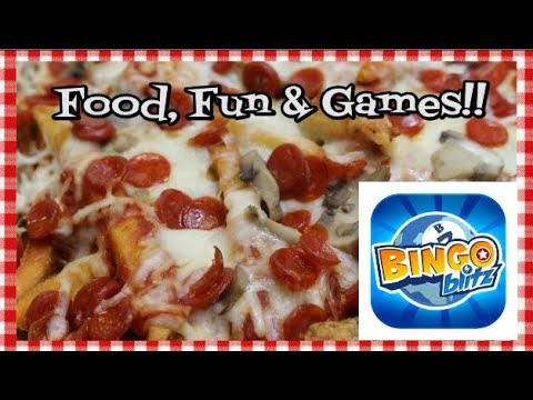 Pizza Fries and Video Games ~ Featuring Playtika Bingo Blitz App ~ Noreen's Kitchen