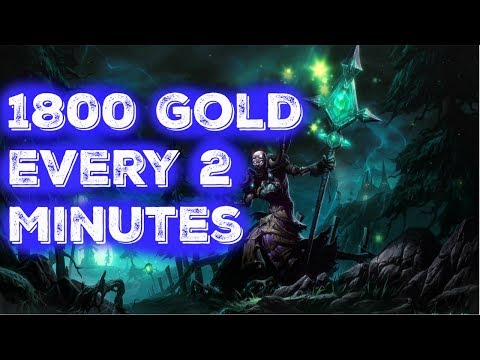 1800 Gold Every 2 Minutes... WoW Gold Making Guides Patch 7.3 - Volatile Air