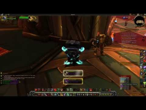 Mythic Plus Cache Warrior Class Order Hall