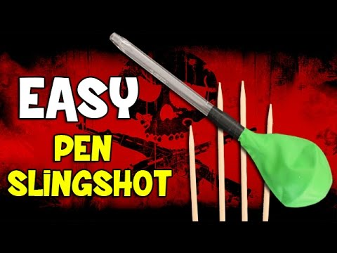 How to make a Slingshot - Easy slingshot
