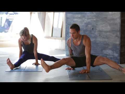 Leg Day Workout: Free Yoga Strength Flow with Dylan Werner and Ashley Galvin