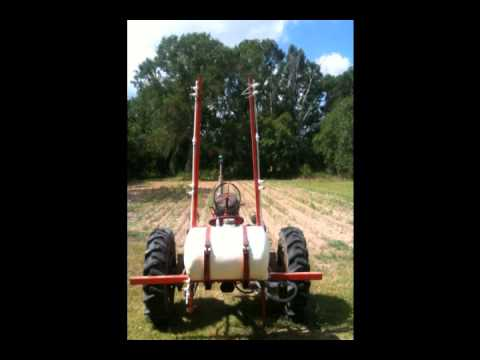 Home made row crop sprayer  Allis CA