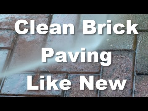 How You Can Clean the Brick Paving Like New Again