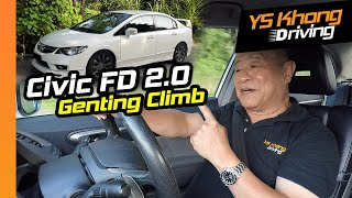 How Good is this 10-year Old Honda Civic FD 2.0, Tested on Genting? | YS Khong Driving