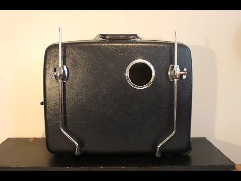 How To DIY Suitcase Kick Drum - Part 1: Why a Suitcase?
