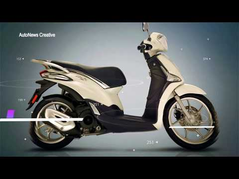 2018 Piaggio Liberty Scooter Specifications Overview