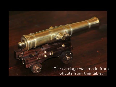 Making a Model 1779 Cannon