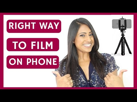 How To Film Youtube Videos On iPhone - Make Great Looking Videos